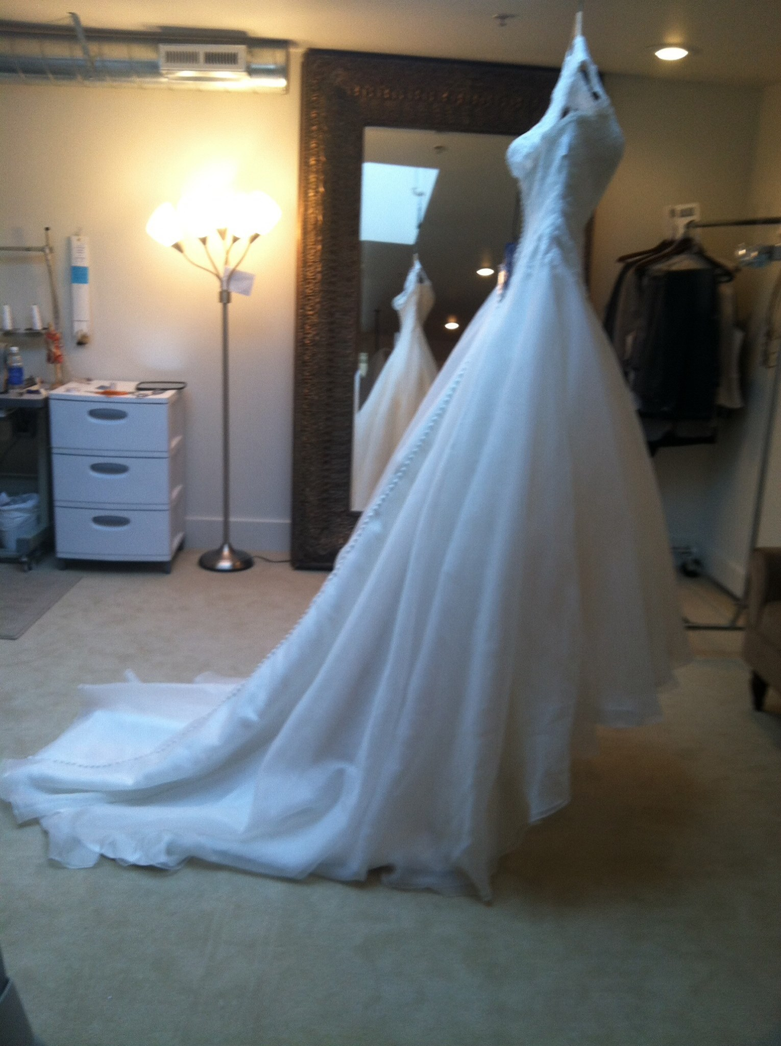 Professional Wedding Gown Steaming - Montana Wedding Seamstress